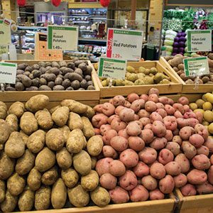 Potato Display