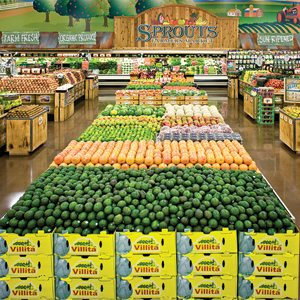 Sprouts Farmers Market Display