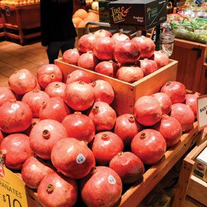 Pomegranate Display