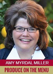 Amy Myrdal Miller - Produce on the Menu