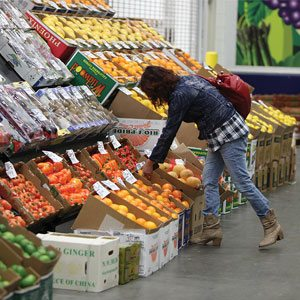 Selecting Produce