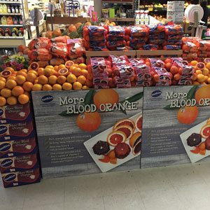 Blood Orange Display