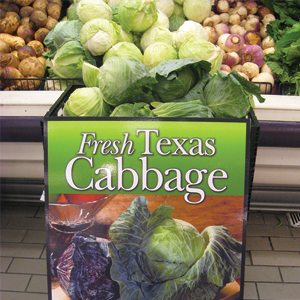 Fresh Texas Cabbage
