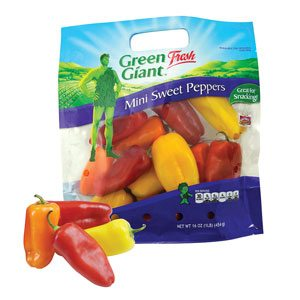 Green Giant Sweet Peppers
