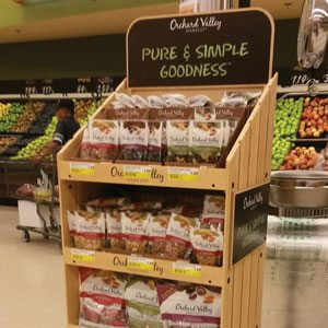 Pure Simple Goodness Display