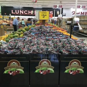 Sage Fruit Cherries Display