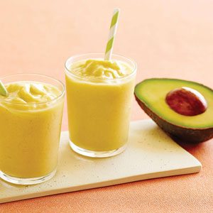 Superfoods like Avocado Smoothies