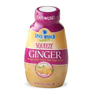 Spice World Giner Squeeze Bottle
