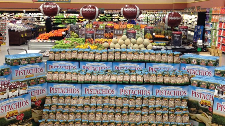 Pistachios Display