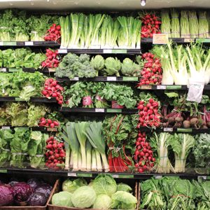Locally grown produce popular in the South