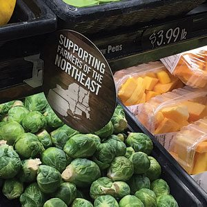 market bistro Brussels sprouts