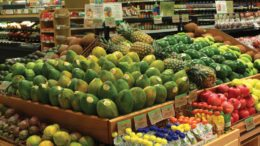 Publix Produce Display