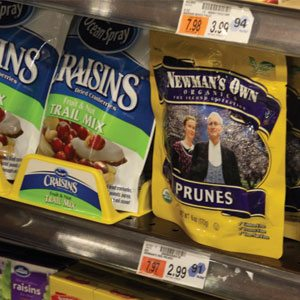 Newman's Own Prunes