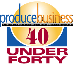 40 Under Forty Button