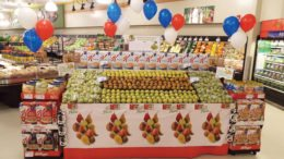 Pears Store Display