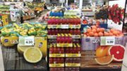 Sunkist Citrus Display