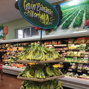 Banana Tower Display