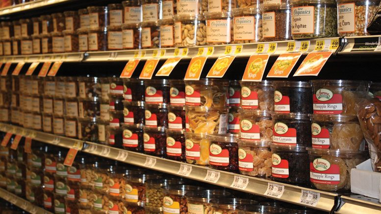 Dried Fruits & Nuts Display