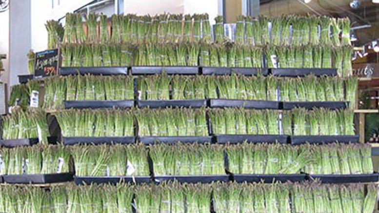 Asparagus Display