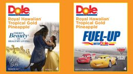 Dole Food Disney Stickers