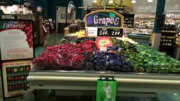 Grapes Display