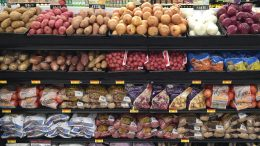 Potato Retail Display
