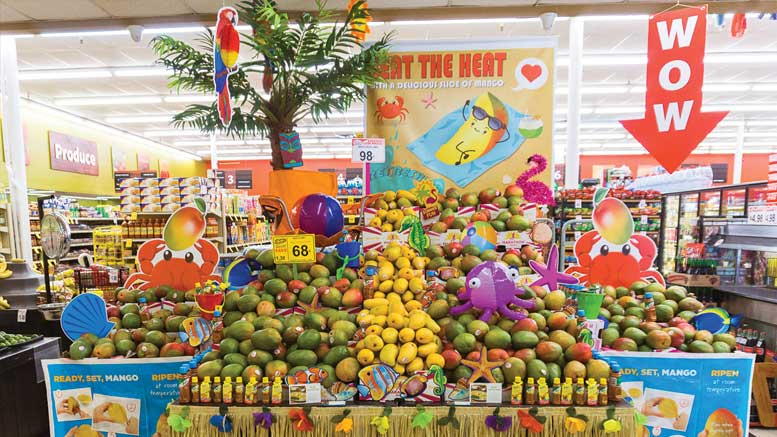 Mexican Mango Display