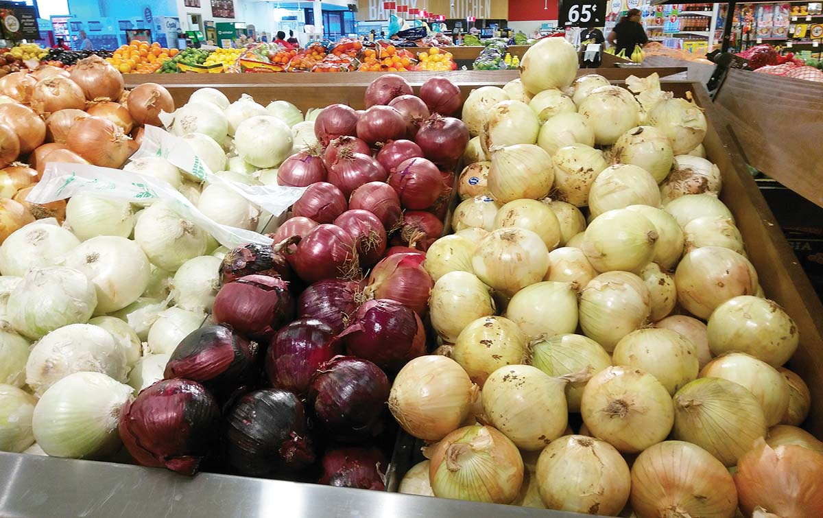 We're shutting down the supply of onions to the entire South by Monday- OPMAN